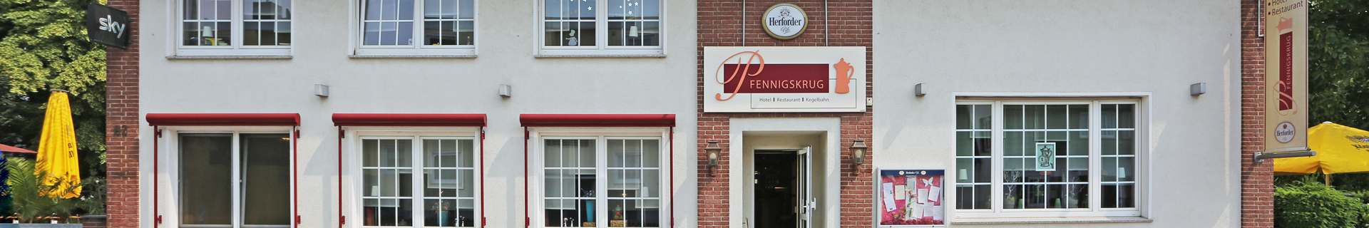 Unser Restaurant in Herford - Speisekarte
